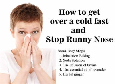 Illustration of Frequent Runny Nose, Stuffy Nose, And Sneezing?