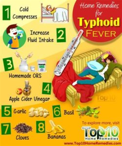 Illustration of Treatment For Fever In Typhoid?