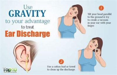 Illustration of Treating Smelly Water Coming Out Of The Ear In A 4-year-old Child?