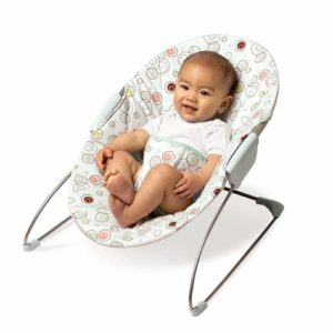 Illustration of Is It Safe To Use A Baby Bouncer For A 2 Month Old Baby?