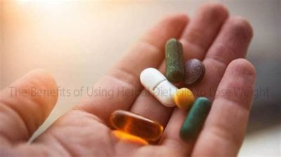 Illustration of The Use Of Herbal Diet Drugs, Is It Safe?