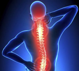 Illustration of Prolonged Back Pain Radiating To The Spine?