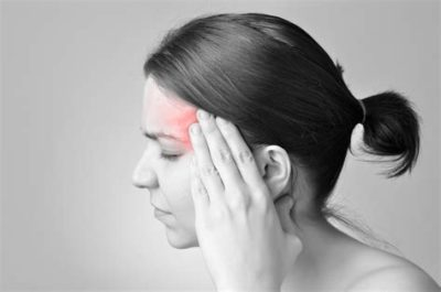 Illustration of Headache On One Side Until The Left Eye Hurts And Blurry Vision?