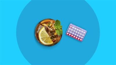 Illustration of Drinking Rules For Birth Control Pills?