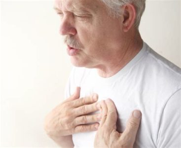 Illustration of Shortness Of Breath Accompanied By Left Chest Pain When Inhaling?
