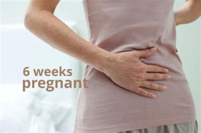 Illustration of Not Feeling The Signs Of Pregnancy At 6 Weeks Pregnant?